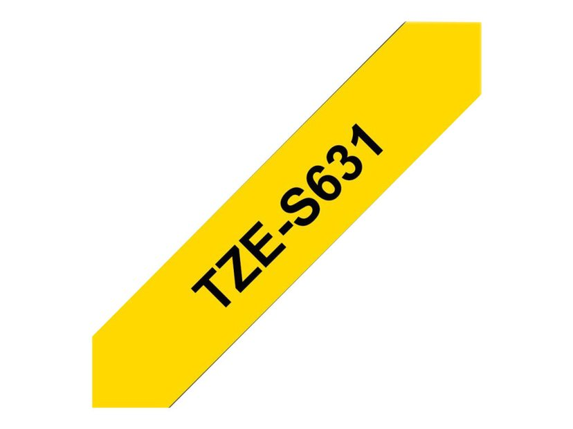 Brother Tape TZe-631 12mm Black/Yellow