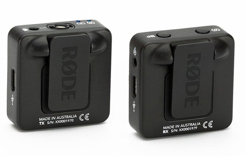 Røde Wireless GO Trådlöst Mikrofonsystem Svart