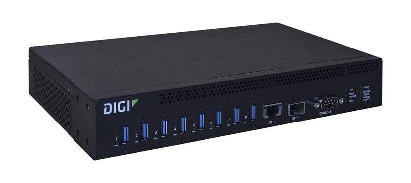 Digi Anywhereusb 8 Plus Remote USB 3.1 Hub 8-Port
