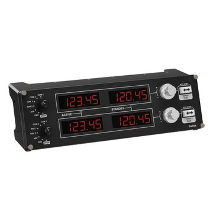 Logitech Pro Flight Radio Panel Svart