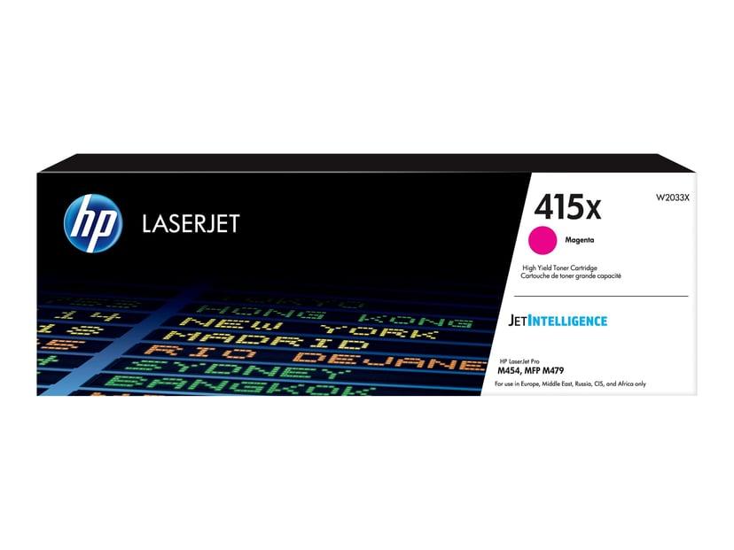 HP Värikasetti Magenta 415X 6K - CLJ M479