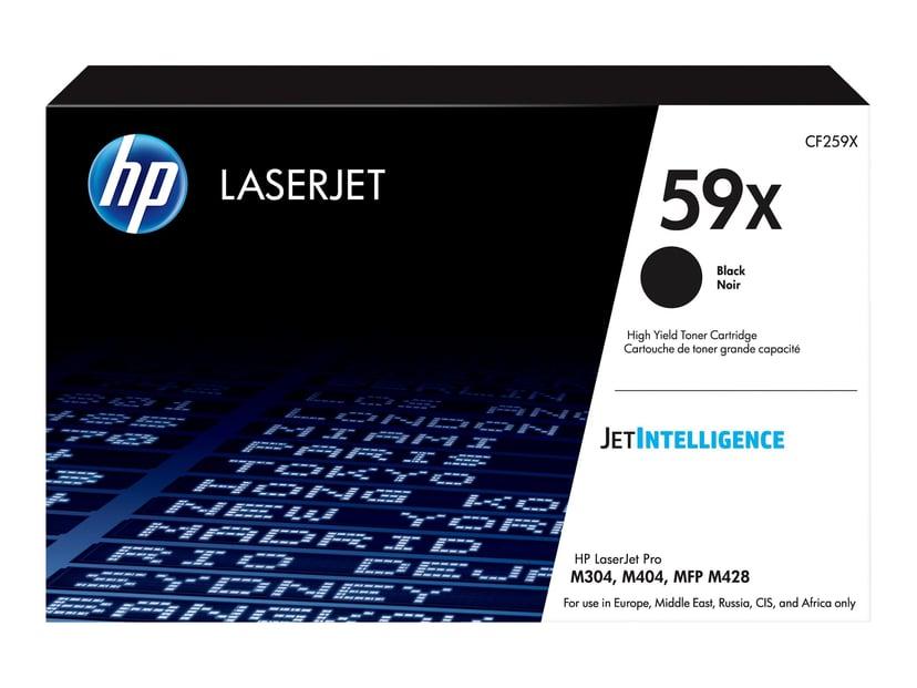 HP Värikasetti Musta 10K 59X - LJ M404