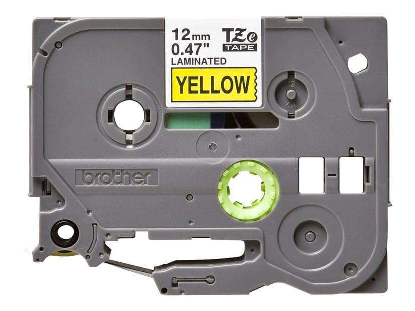 Brother Tape TZE-631 12mm Sort/Gul