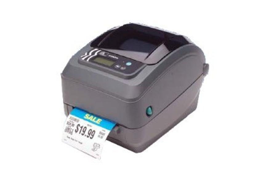 Zebra GX420T DT/TT 203dpi USB/Seriell/Ethernet R.2.0