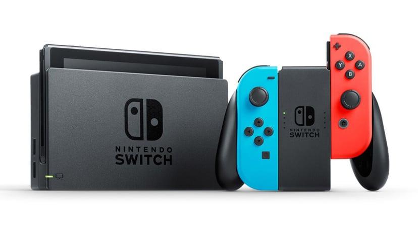 Nintendo Switch Neon Red/Neon Blue (New 2019) 32GB Blauw, Rood, Zwart
