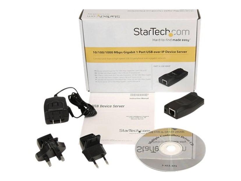 Startech 10/100/1000 Mbps Gigabit 1 Port USB over IP Device Server