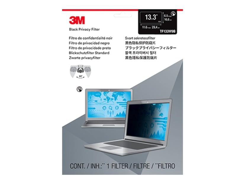 "3M Databeskyttelsesfilter til 13,3"" widescreen laptop"