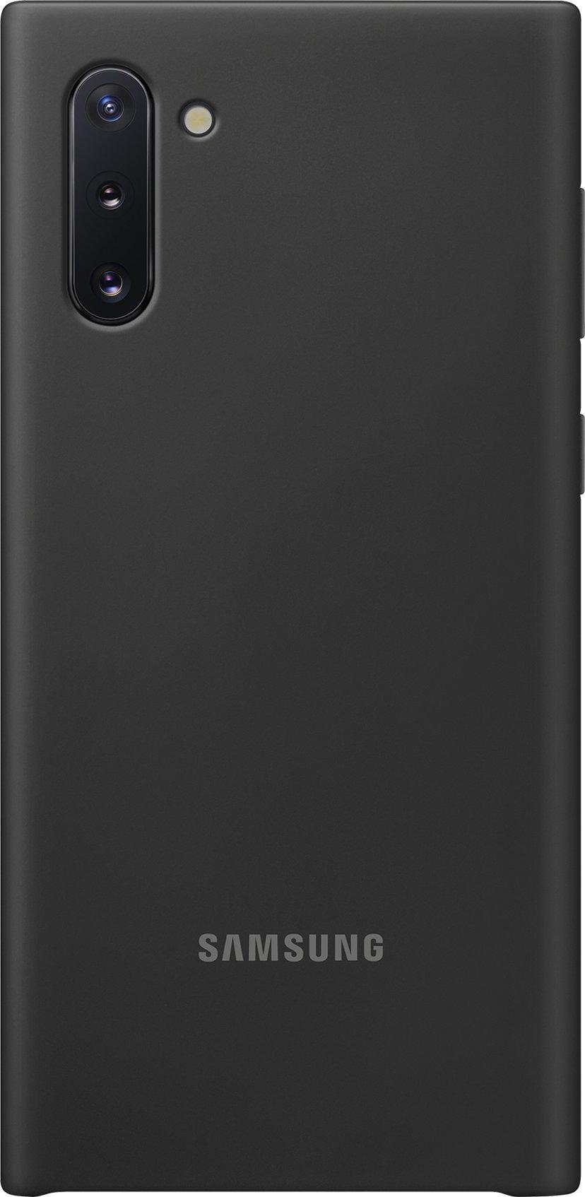 Samsung Silicone Cover EF-PN970 Samsung Galaxy Note 10 Svart