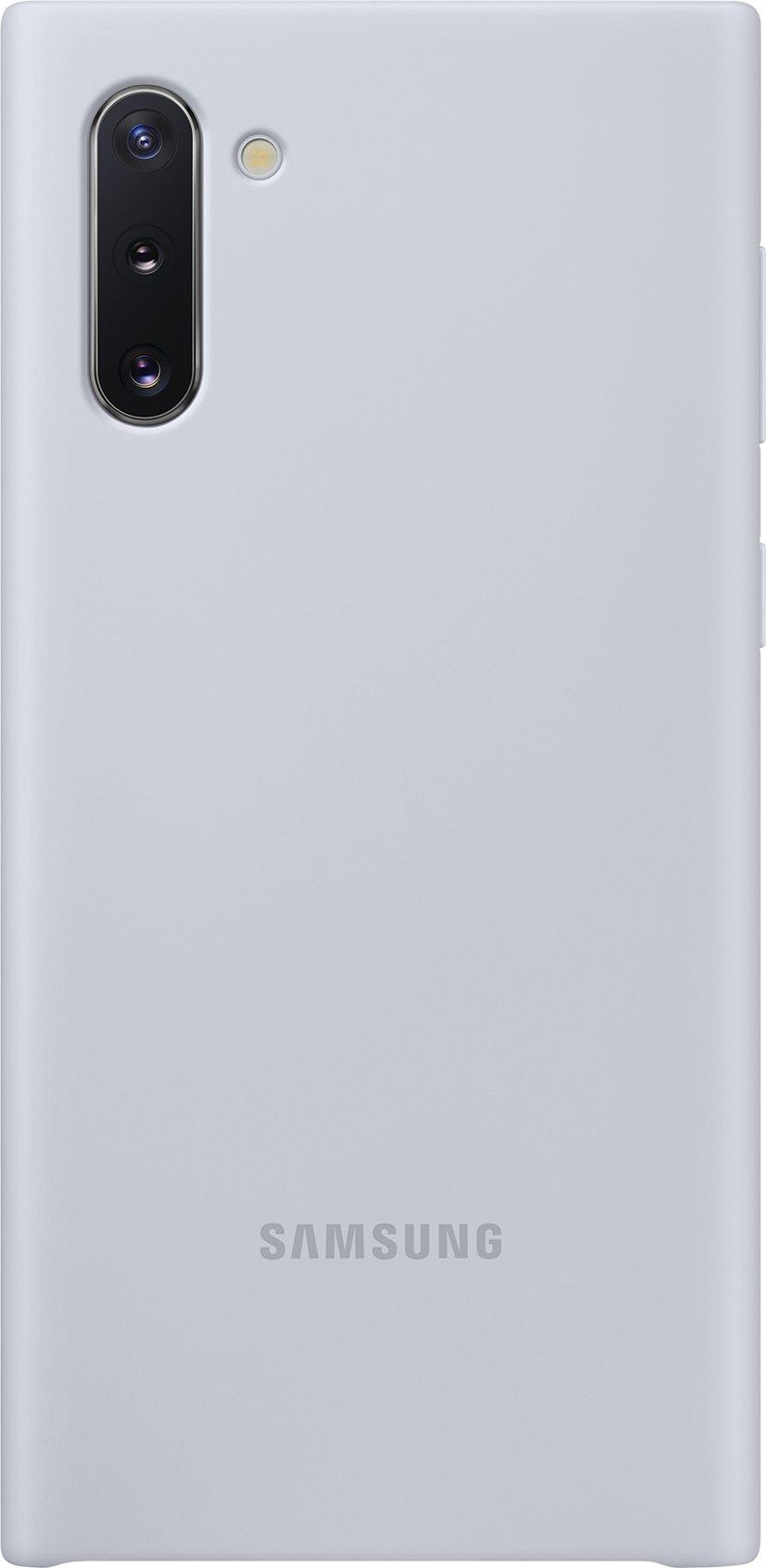 Samsung Silicone Cover EF-PN970 Samsung Galaxy Note 10 Silver