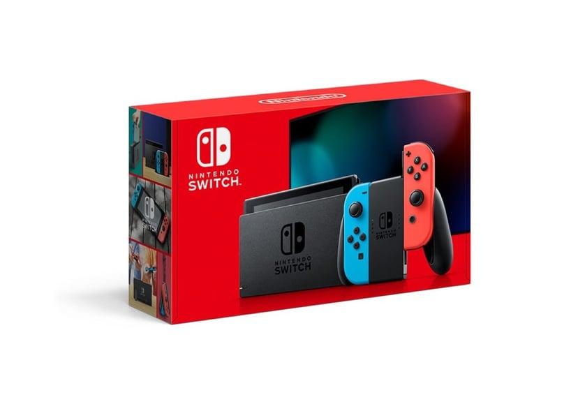Nintendo Nintendo Switch - Neon Röd/Blå (2019) 32GB Blå, Röd, Svart