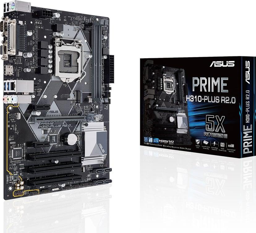 ASUS PRIME H310-PLUS R2.0 ATX Moderkort