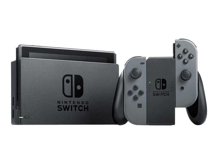 Nintendo Switch. 2019 Grijs, Zwart