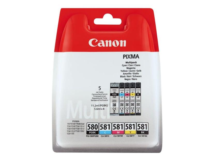 Canon Bläck Multipack PGI-580/CLI581 (BK/C/M/Y)