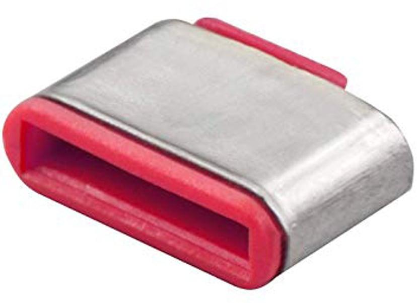 Lindy Port Blocker USB-C Rosa 10-Pack utan nyckel