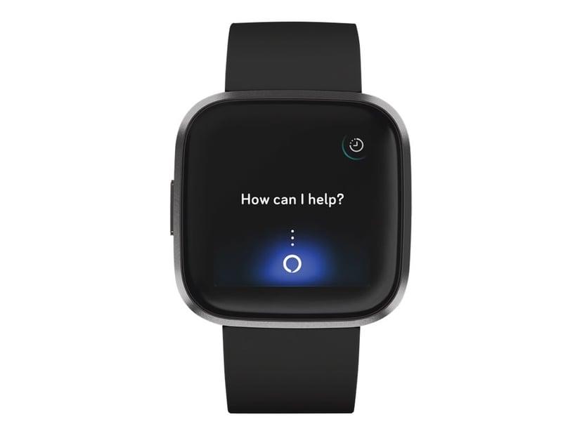 Fitbit Versa 2 Black/Carbon Smart klocka Svart