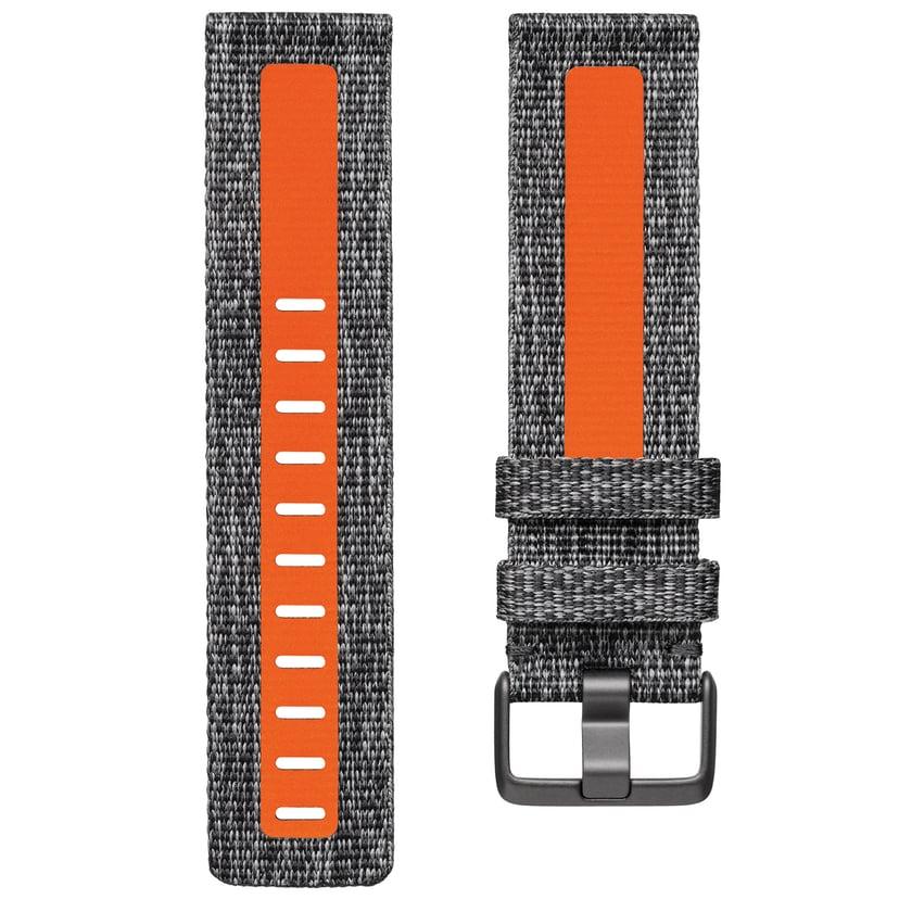 Fitbit Wrist Band Large Char/Orange - Versa 2