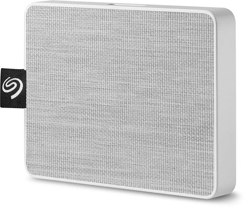 Seagate One Touch SSD 0.5Tt Valkoinen