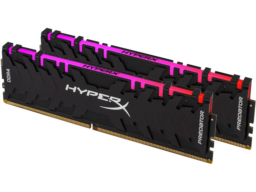 Kingston HyperX Predator RGB 16GB 3,600MHz DDR4 SDRAM DIMM 288-pin