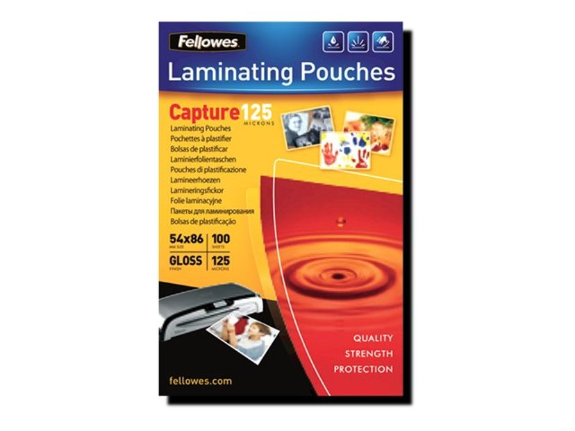Fellowes Lamineringsficka 125mic A4 100st
