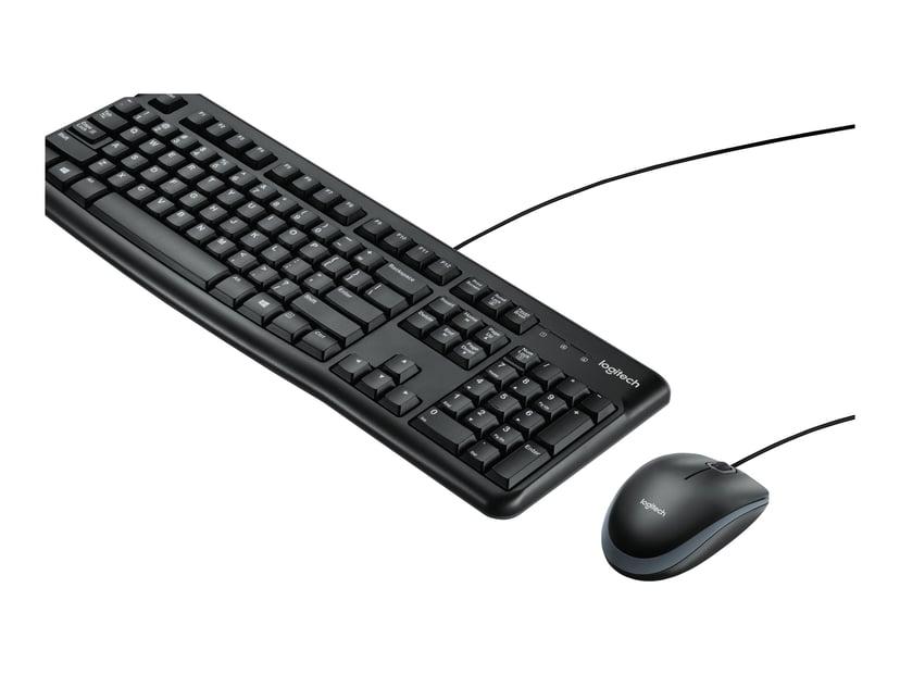 Logitech Desktop MK120 Tysk