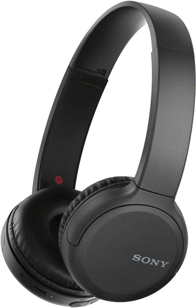 Sony WH-CH510 trådløse hodetelefoner med mikrofon Svart