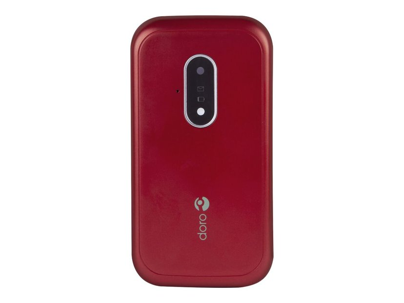 Doro 7031 Röd, Vit