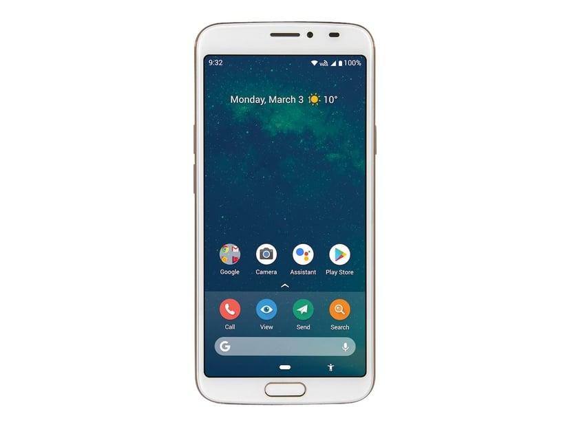 Doro 8080 32GB Enkelt-SIM Hvit