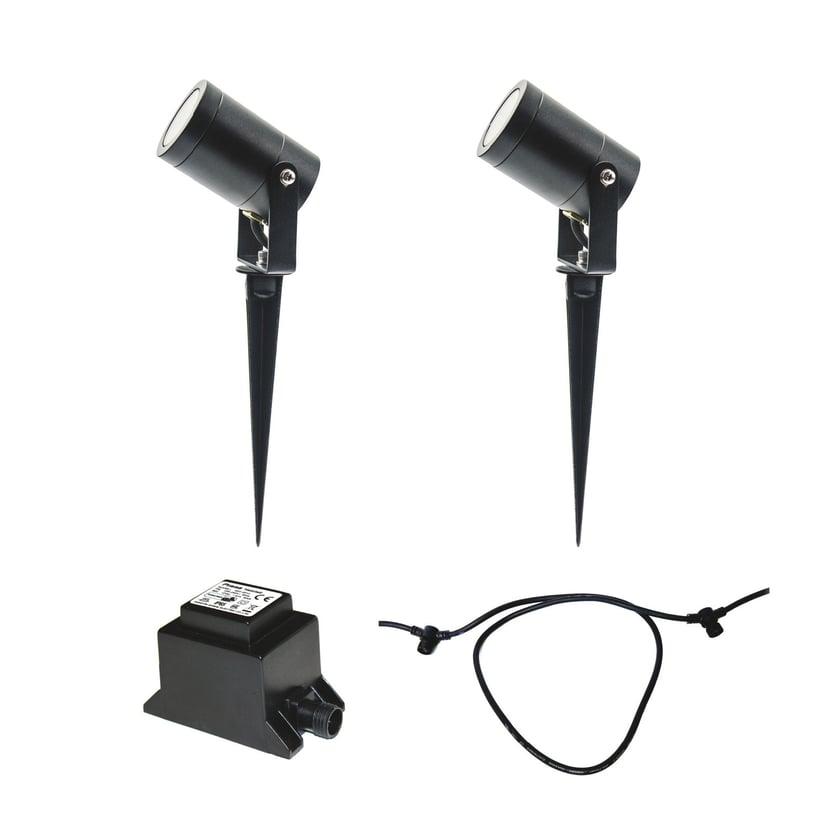 LightsOn Luna Starter Kit 2 x Lampa + Transformator + Kabel