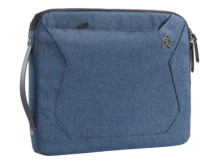 "STM Myth Notebookhylster skiferblå 15"" 300D x 600D nylon/polyester"