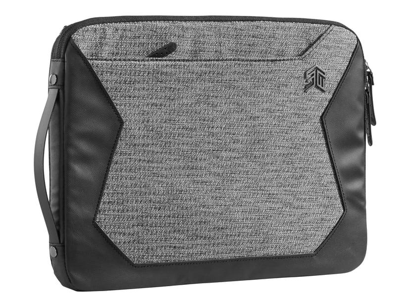 "STM Myth Notebookhylster granittsvart 15"" 300D x 400D-polyester"