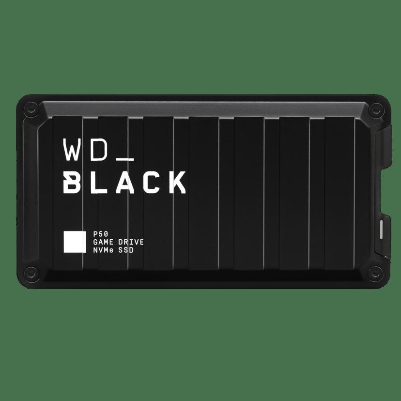 WD Black P50 Game Drive SSD 0.5TB Svart
