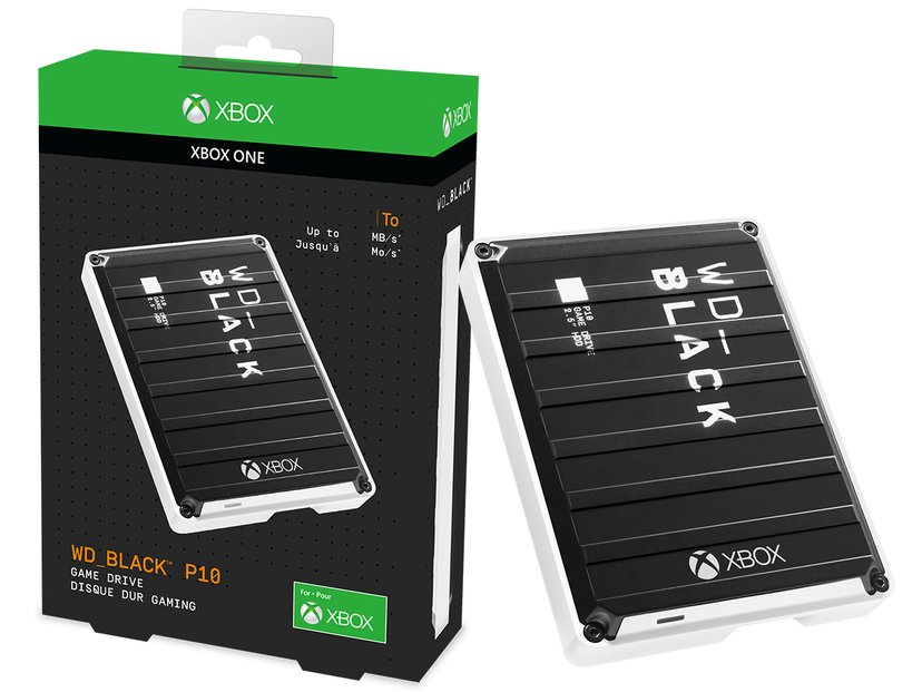 WD Black P10 Game Drive Xbox One 3TB Sort