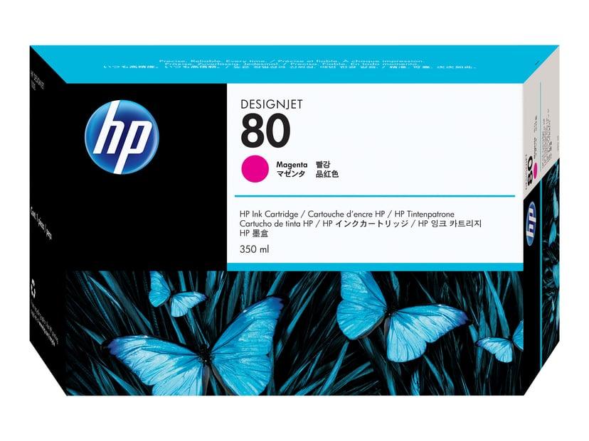 HP Blæk Magenta No.80 DJ 1050C/1055CM 350ml