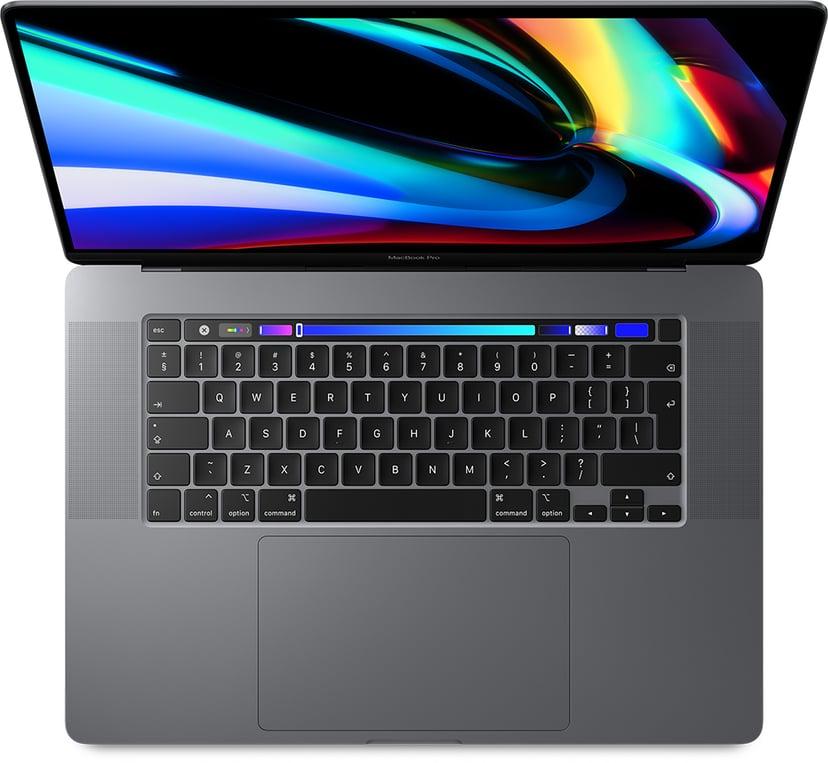 """Apple MacBook Pro (2019) Rymdgrå Core i9 16GB 4096GB SSD 16"""""""