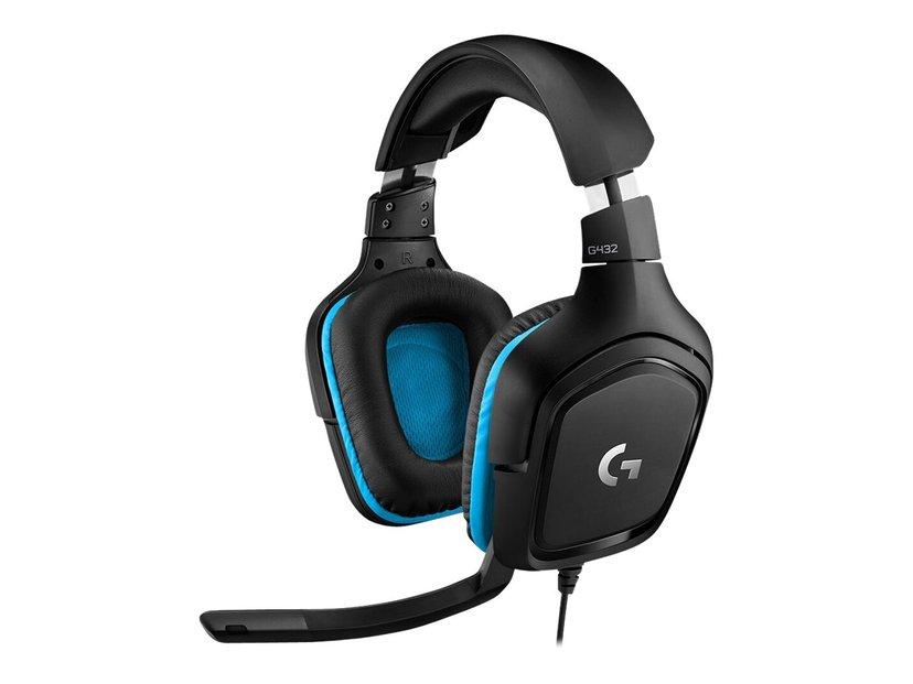 Logitech Gaming Headset G432 Svart