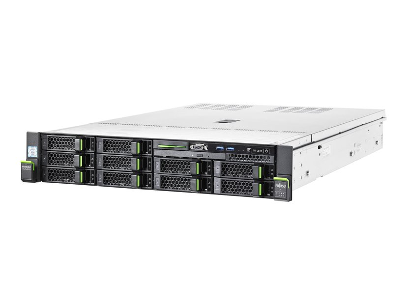 Fujitsu PRIMERGY RX2540 M5 Xeon Silver 8 kjerner 16GB