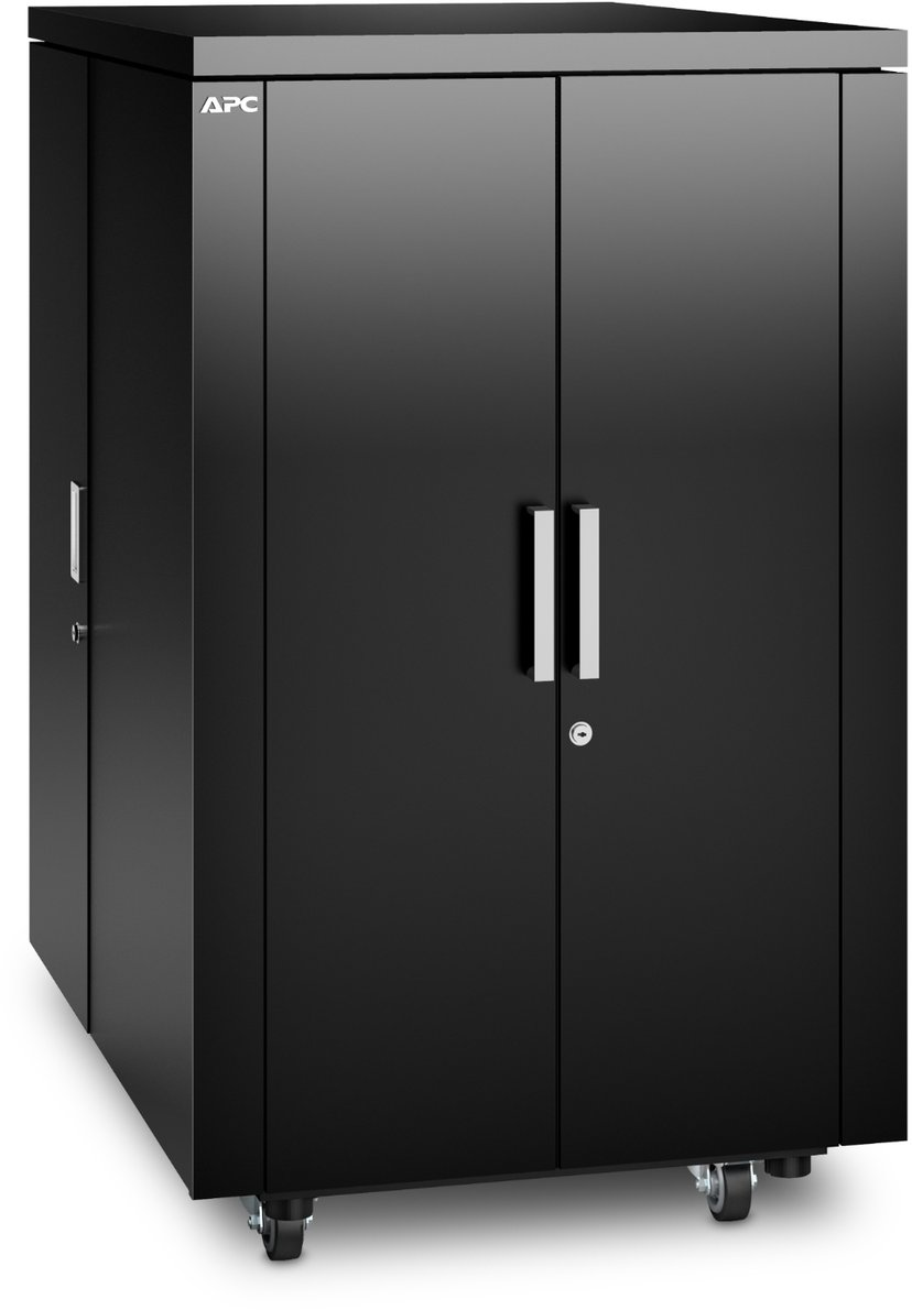 APC NetShelter CX Secure Soundproof Server Room in a Box Enclosure