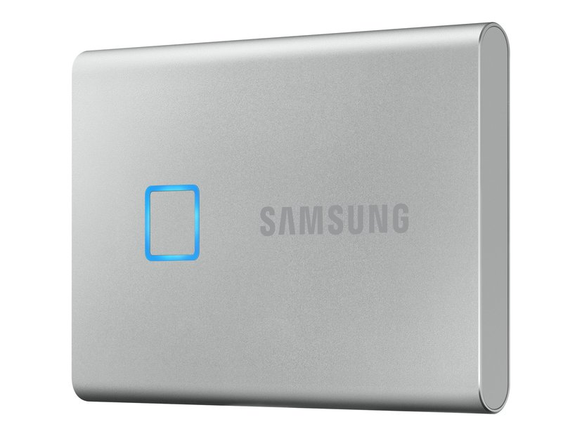 Samsung Portable SSD T7 Touch 1TB Sølv