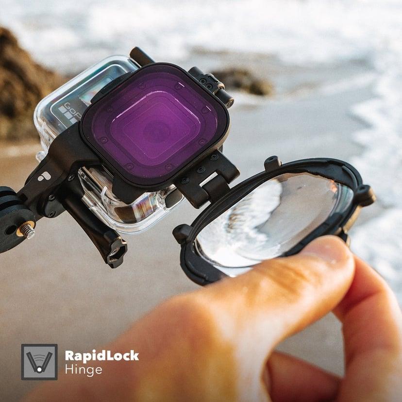 PolarPro Switch Blade Macro & Filter kit Hero8 Protective Housing