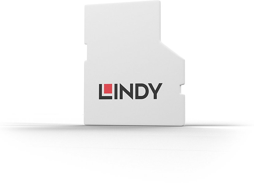 Lindy Port Blocker SD Vit 4-pack