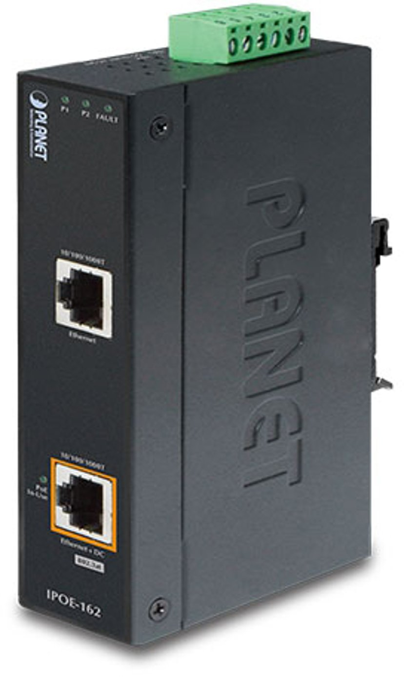Planet Industrial PoE-injector IP30 802.11at 30W