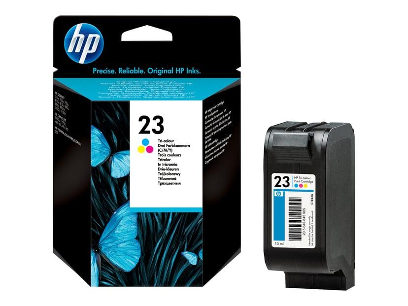 HP Blæk Farve No.23 DJ 720/815/880/890/895/1120