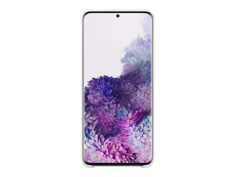 Samsung Silicone Cover EF-PG985 Samsung Galaxy S20+ Vit