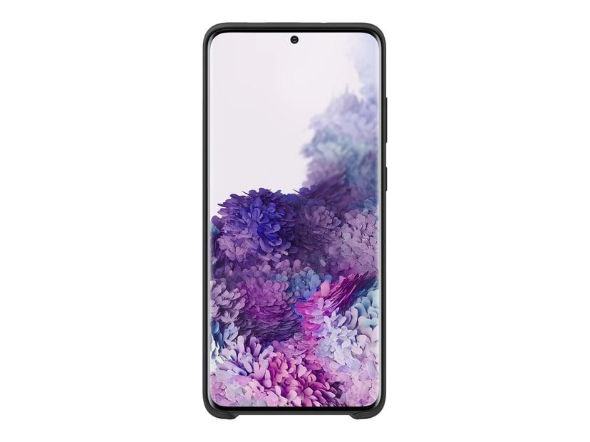 Samsung Silicone Cover EF-PG985 Samsung Galaxy S20+ Svart