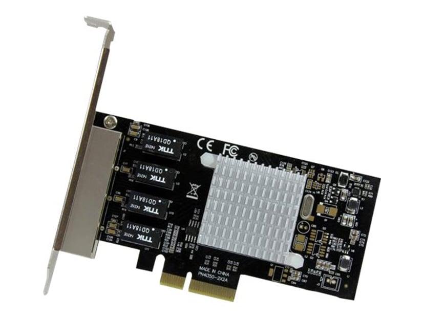 Startech 4-port Gigabit Ethernet Nätverkskort