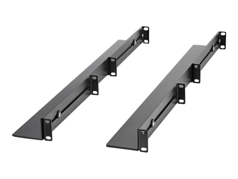 Startech 1U rackhylla med justerbart djup