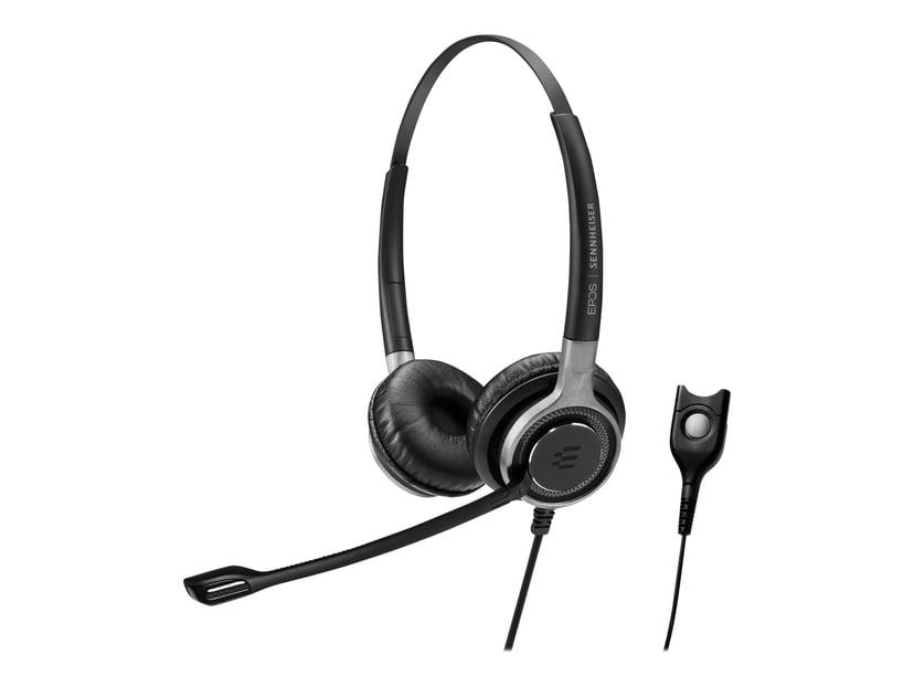 EPOS | SENNHEISER IMPACT SC 668 Headset Duo Silver, Svart