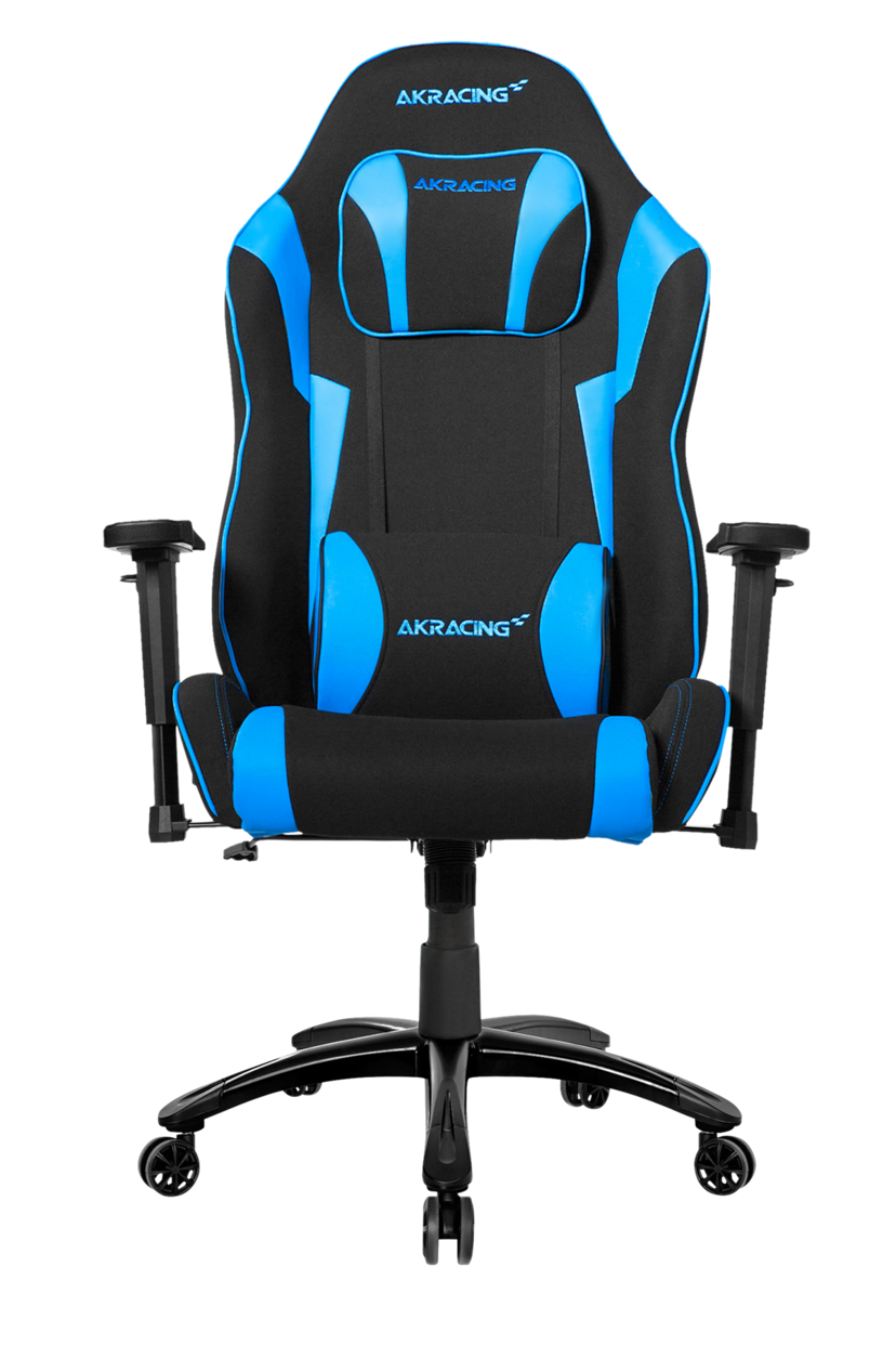 AK Racing Core ExWide SE Svart/Blå