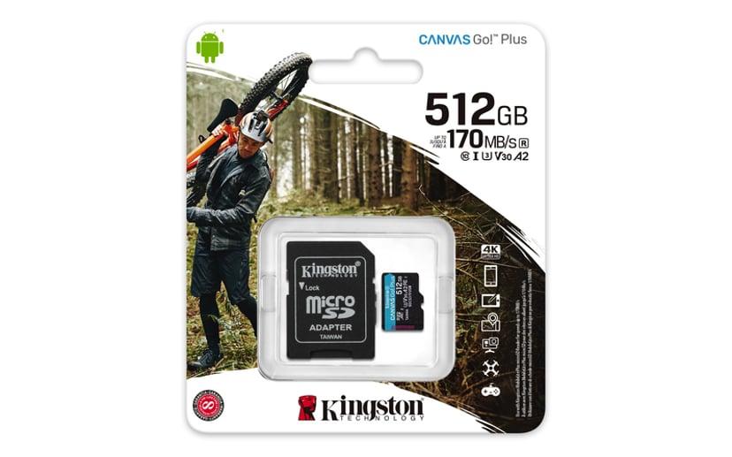 Kingston Canvas Go! Plus mikroSDXC UHS-I minneskort
