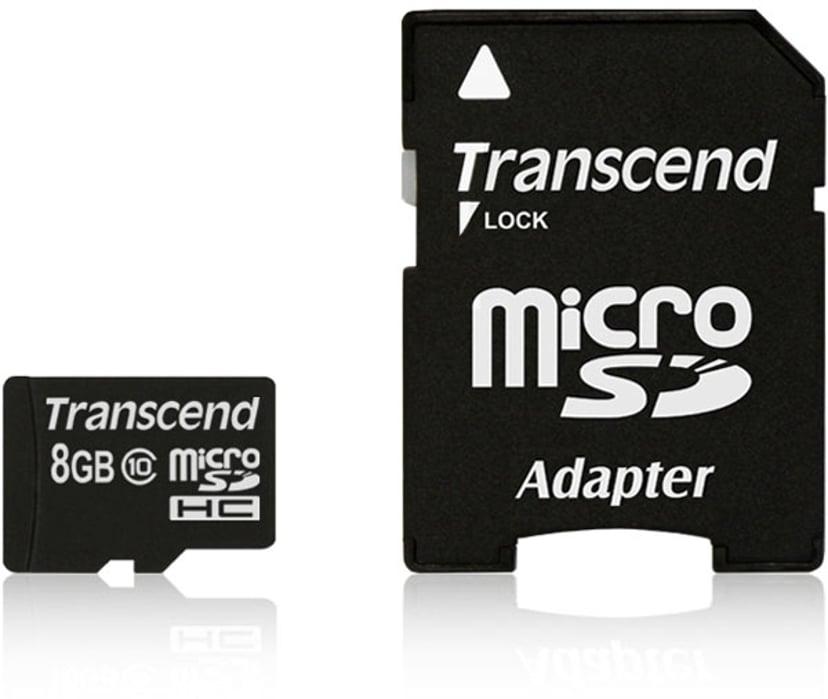 Transcend Flash-Minneskort 8GB microSDHC